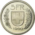 Switzerland / Five Francs 1980 - reverse photo