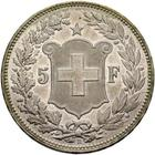 Switzerland / Five Francs 1888 - reverse photo