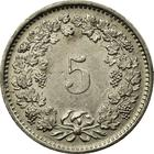 Switzerland / Five Centimes (Rappen) 1979 - reverse photo