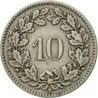 Switzerland / Ten Centimes (Rappen) 1913 - reverse photo