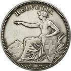 Switzerland / Five Francs 1850 - obverse photo