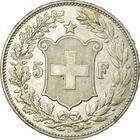 Switzerland / Five Francs 1892 - reverse photo