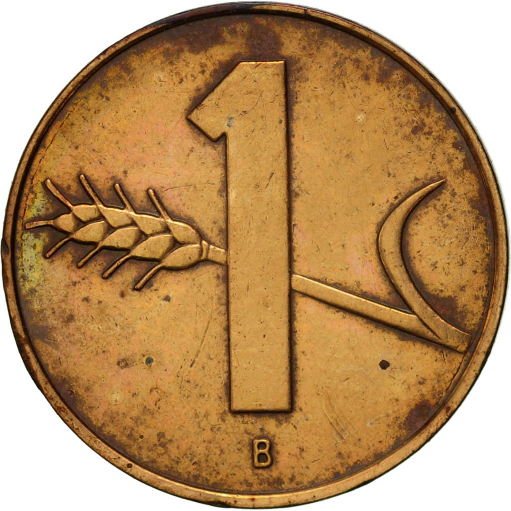One Centime (Rappen) 1962: Photo Coin, Switzerland, Rappen 1962