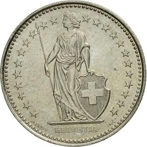 Switzerland / Half Franc 1997 - obverse photo