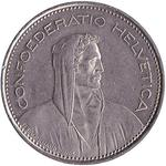 Switzerland / Five Francs 1981 - obverse photo