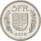 Switzerland / Five Francs 2012 - reverse photo