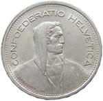 Switzerland / Five Francs 1953 - obverse photo