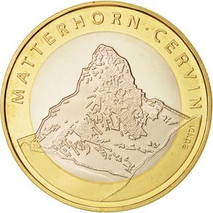 Switzerland / Ten Francs 2004 Matterhorn - reverse photo