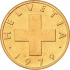 Switzerland / One Centime (Rappen) 1979 - obverse photo