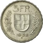 Switzerland / Five Francs 1932 - reverse photo
