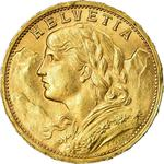 Switzerland / Twenty Francs 1899 - obverse photo