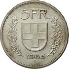 Switzerland / Five Francs 1965 - reverse photo