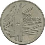 Switzerland / Five Francs 1986 Battle of Sempach