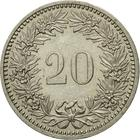 Switzerland / Twenty Centimes (Rappen) 1985 - reverse photo
