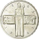 Switzerland / Five Francs 1963 Red Cross - obverse photo