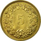 Switzerland / Five Centimes (Rappen) 1981 - reverse photo