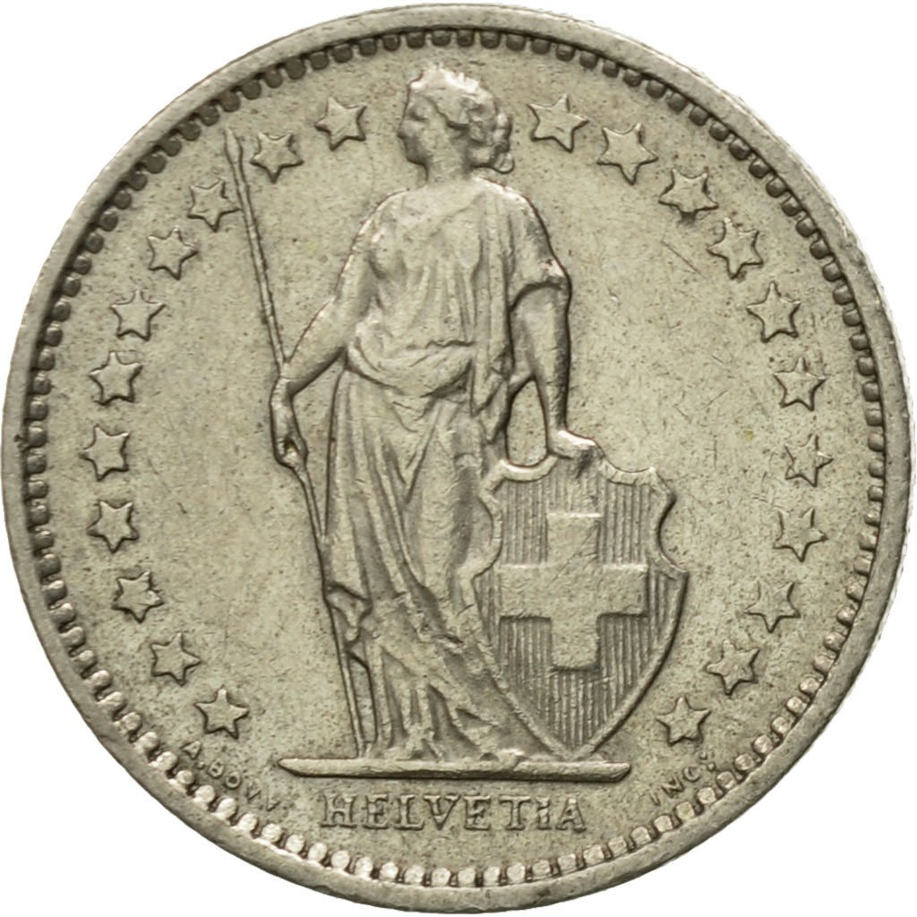 Half Franc 1978: Photo Coin, Switzerland, 1/2 Franc, 1978