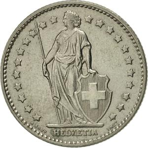 Switzerland / One Franc 1977 - obverse photo