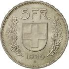 Switzerland / Five Francs 1939 - reverse photo