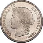 Switzerland / Five Francs 1894 - obverse photo
