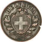 Switzerland / Two Centimes (Rappen) 1926 - obverse photo