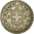 Switzerland / Five Francs 1891 - reverse photo