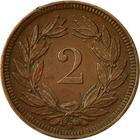 Switzerland / Two Centimes (Rappen) 1909 - reverse photo