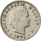 Switzerland / Twenty Centimes (Rappen) 1921 - obverse photo