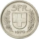 Switzerland / Five Francs 1970 - reverse photo