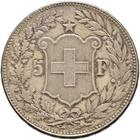 Switzerland / Five Francs 1900 - reverse photo