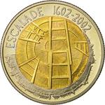 Switzerland / Five Francs 2002 L'Escalade - obverse photo