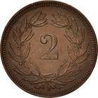 Switzerland / Two Centimes (Rappen) 1914 - reverse photo