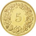 Switzerland / Five Centimes (Rappen) 2007 - reverse photo