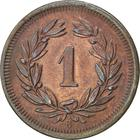 Switzerland / One Centime (Rappen) 1906 - reverse photo