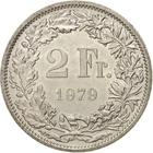 Switzerland / Two Francs 1979 - reverse photo