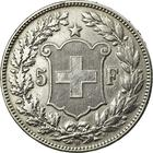 Switzerland / Five Francs 1909 - reverse photo