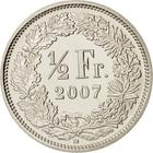 Switzerland / Half Franc 2007 - reverse photo
