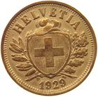 Switzerland / Two Centimes (Rappen) 1929 - obverse photo