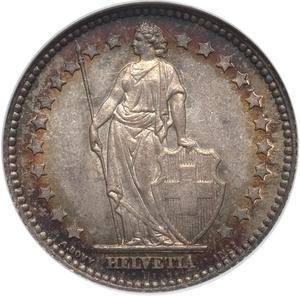 Switzerland / One Franc 1894 - obverse photo