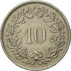 Switzerland / Ten Centimes (Rappen) 1979 - reverse photo