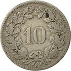 Switzerland / Ten Centimes (Rappen) 1879 - reverse photo