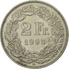 Switzerland / Two Francs 1995 - reverse photo