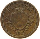 Switzerland / One Centime (Rappen) 1919 - obverse photo