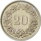Switzerland / Twenty Centimes (Rappen) 1981 - reverse photo