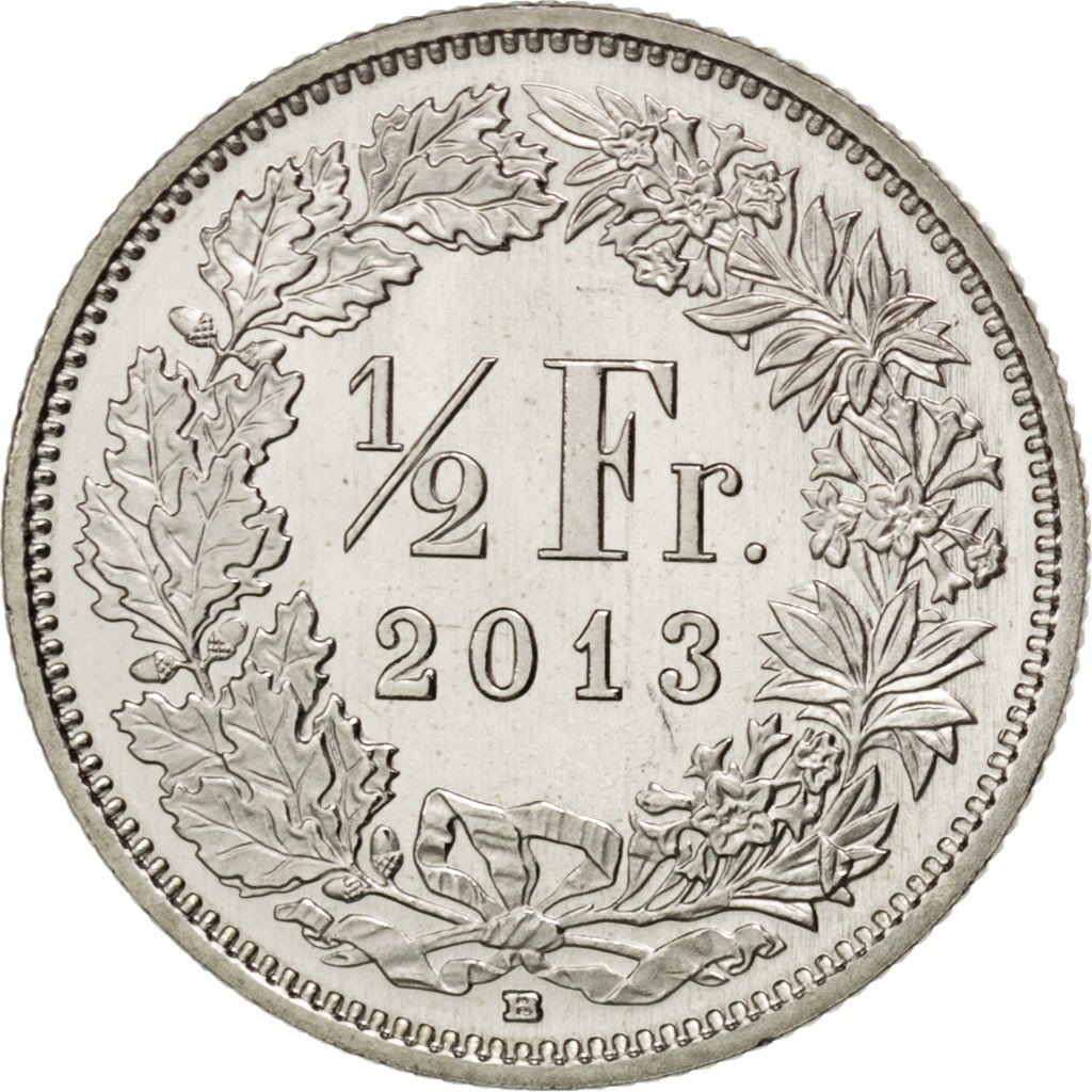 Half Franc: Photo Coin, Switzerland, 1/2 Franc, 2013