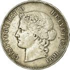 Switzerland / Five Francs 1891 - obverse photo
