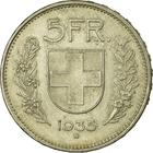 Switzerland / Five Francs 1935 - reverse photo