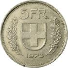 Switzerland / Five Francs 1973 - reverse photo