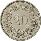 Switzerland / Twenty Centimes (Rappen) 1979 - reverse photo