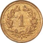 Switzerland / One Centime (Rappen) 1929 - reverse photo